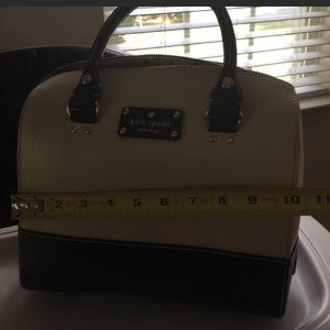 Authentic Kate Spade satchel/shoulder bag.